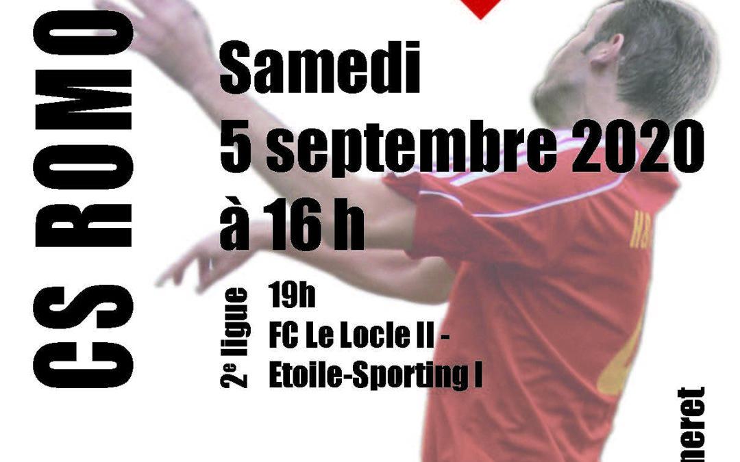 Matchs du 5 septembre